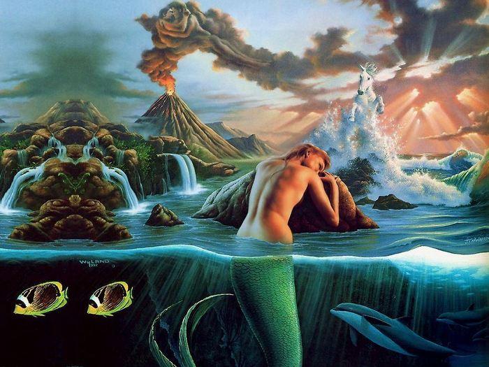 Beautiful Mermaid  Desktop Nexus Wallpapers