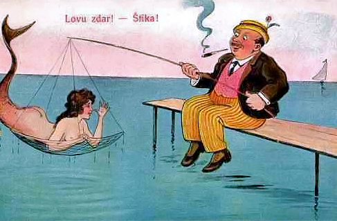 старый рыбак уловом доволен