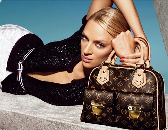 Ну вот, к примеру, куда деваться от витоновских сумок - не носить.