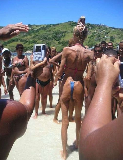 Стринги пляже фото фото 439-364