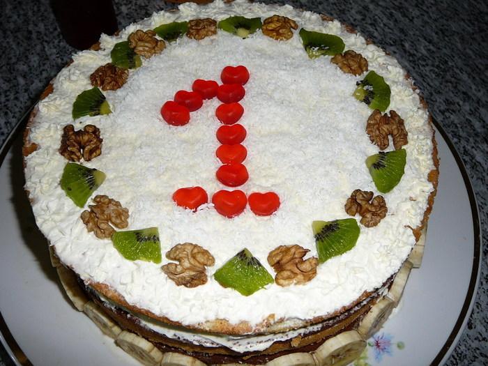 Рецепты тортов 1 год