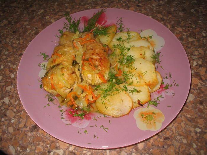 Приготовить праздничное блюдо из курицы