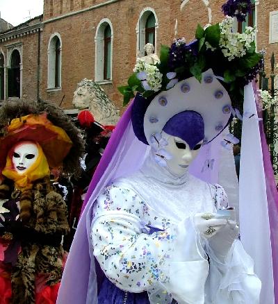 Венецианские карнавальные маски и костюмы II.