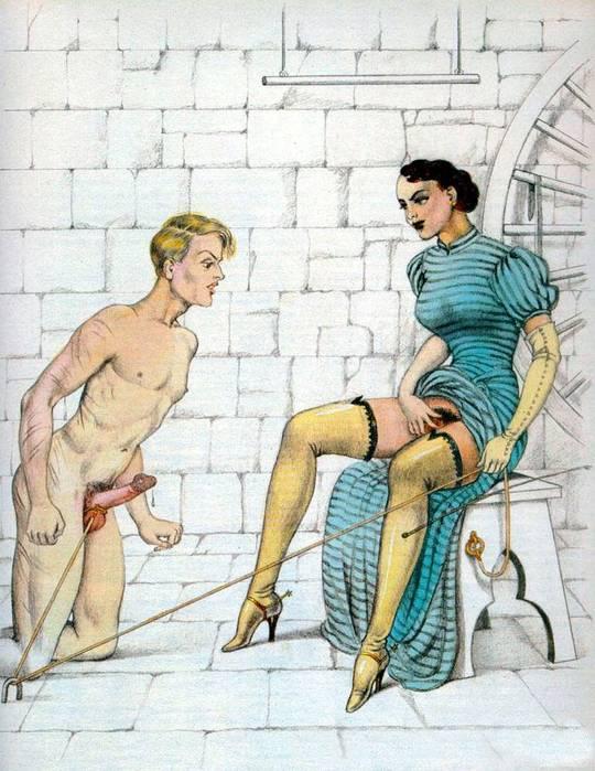 наказание рисунки эротика-ащ2