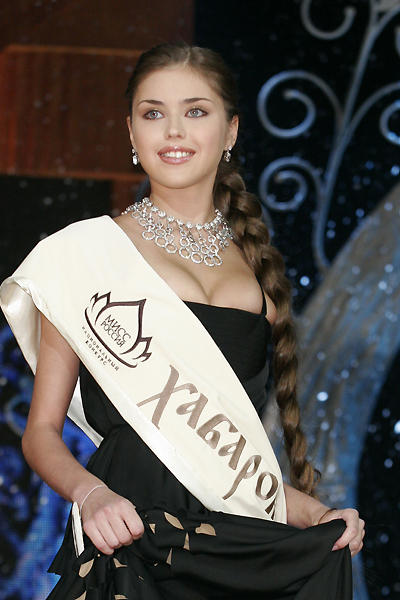 Порно знаменитостей - Мисс Россия 2005 в весьма откровенных ракурсах. Прос