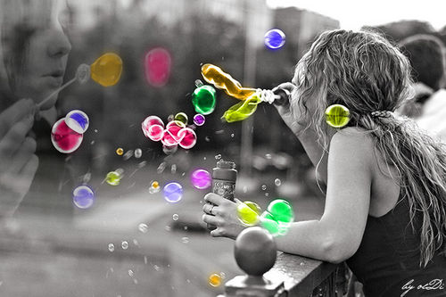 Миллион мыльных пузырей!