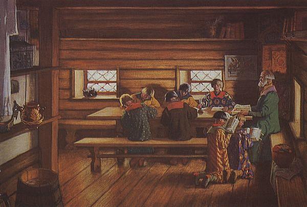 первые школы на руси