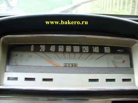 Панель приборов и спидометр ВАЗ-2101.