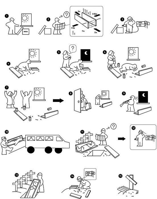 Икеа инструкция по сборке