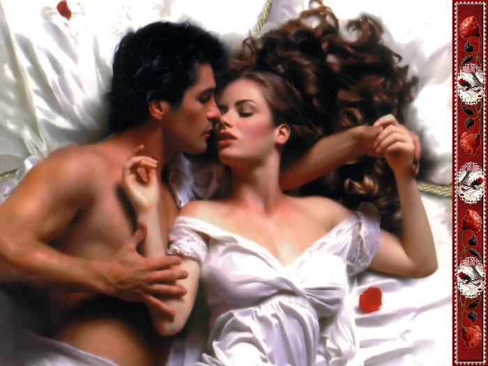 С любимым мужчиной в постели 6 фотография
