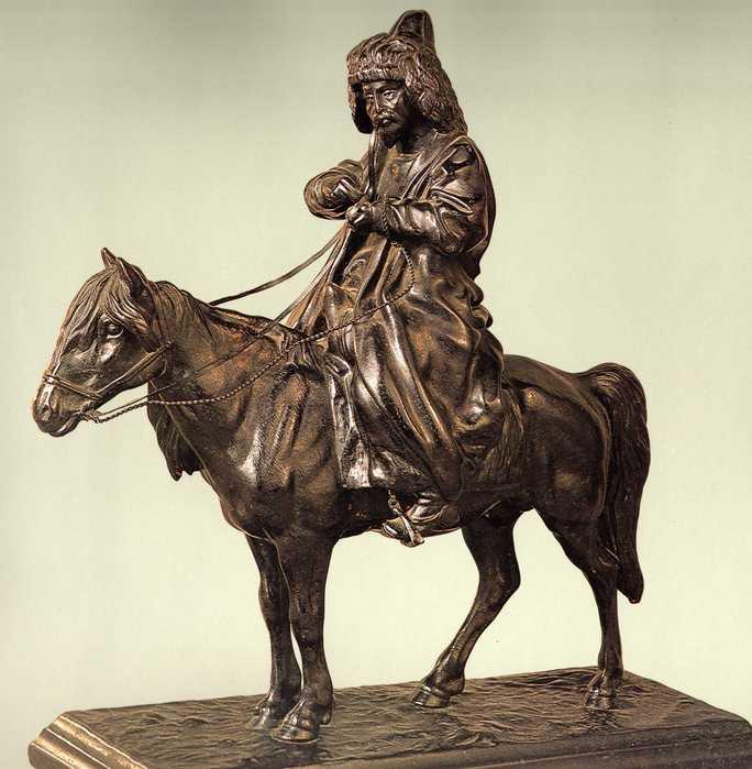 Киргиз на лошади (27.03.2013)