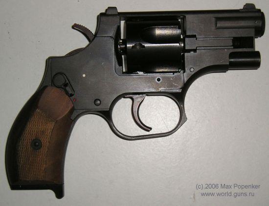 ОC-38.  УСМ: двойного действия Калибр: 7.62х42 мм SP-4 Длина: 191 мм Вес: 880 г (с интегральным ЛЦУ) Длина ствола...