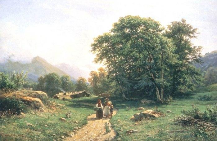 Пейзажей бархатные пейзажи брейгеля
