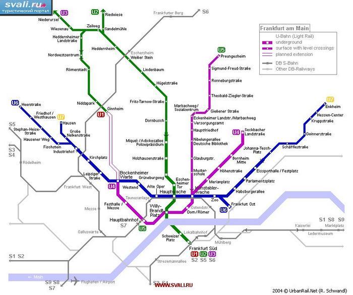 схемы метро германии - Самое
