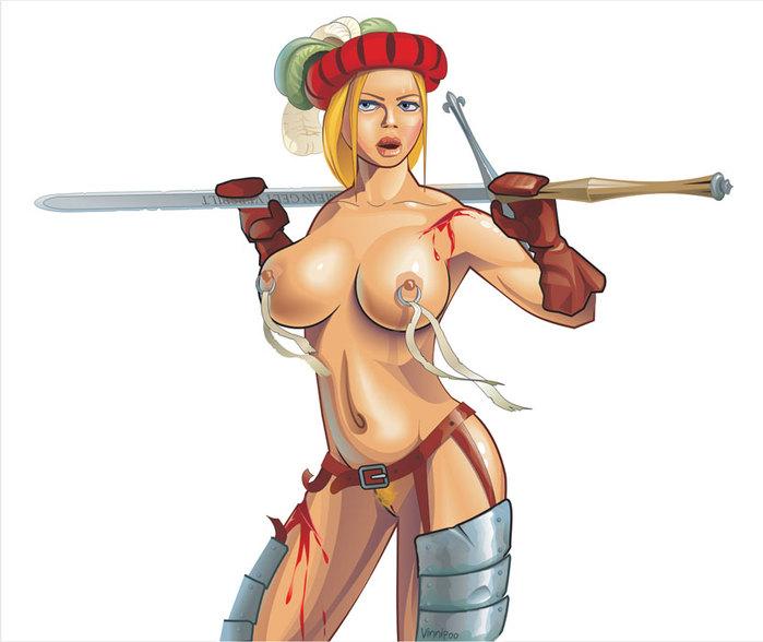 TEC Les figurines de Magnan - Page 2 754575_Landsknecht_girl