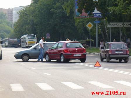 Мытищи:ДТП на Новомытищинском проспекте