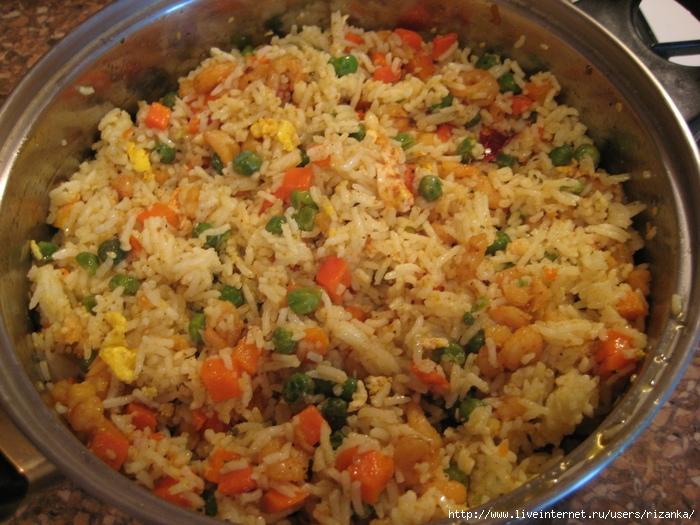 Рис по-тайски с яйцом рецепт классический