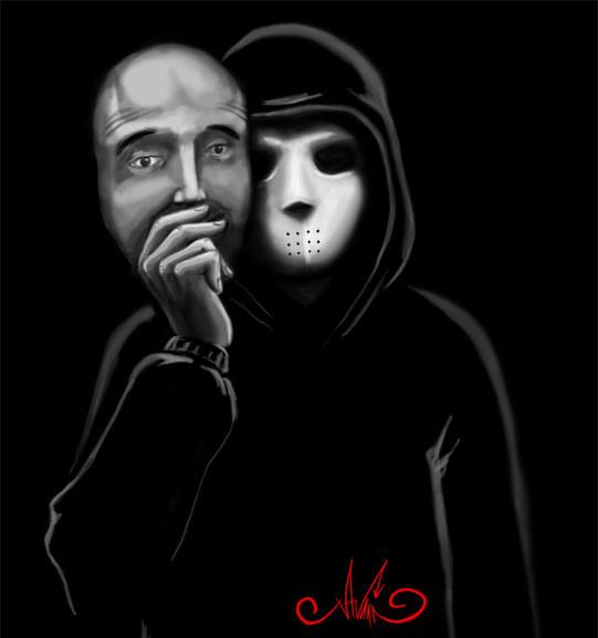 человек носит маску как понимать термобелье