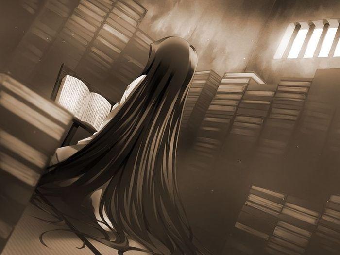 Черно белые аниме в картинках на тему плачу 13 фотография