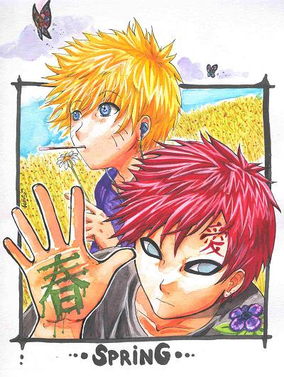 Gaara__Naruto_and_Spring (400x531, 64Kb)