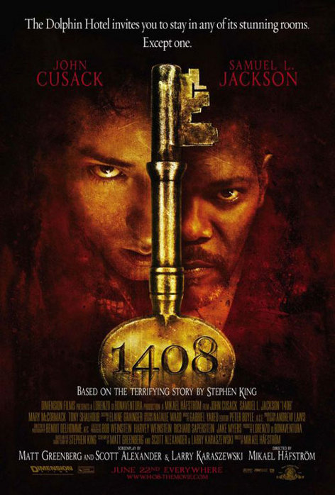 "Horror-thriller ""1408"" is based on the story by Stephen King and stars John"
