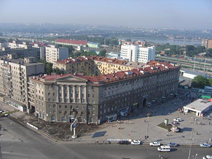 купить дешевый билет на самолет Москва - Новосибирск авиарейс.