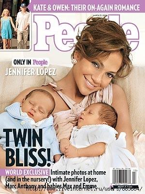 Дженнифер Лопес с близняшками (300x400, 66Kb)
