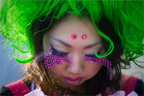...в японской молодежной моде.  Появился этот стиль несколько лет назад...