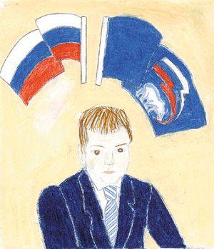 Дети рисуют Медведева (300x349, 22Kb)