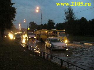 Мытищи: наводнение 3 августа 2007