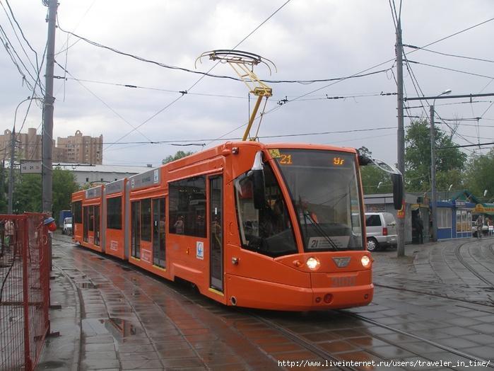 Надеюсь, что с него начнётся возрождение московского трамвая и превращение его в современный скоростной транспорт...