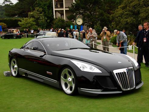 Самое дорогое авто maybach exelero 8миллионов