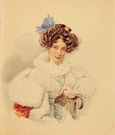 Портрет е п бакуниной не позднее 1832