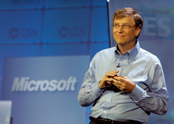 a biography and life work of william henry gates head of the microsoft company