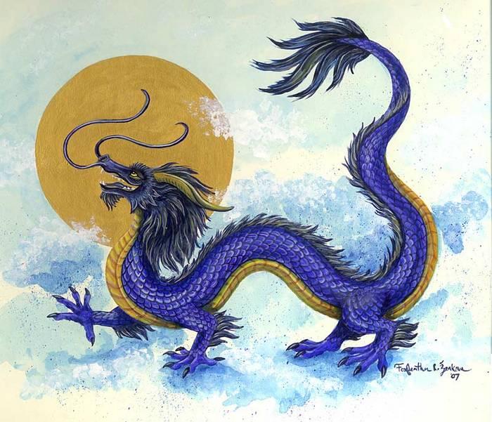 Считается, что Ин-Лун был драконом Небесного Владыки.  Он жил в...