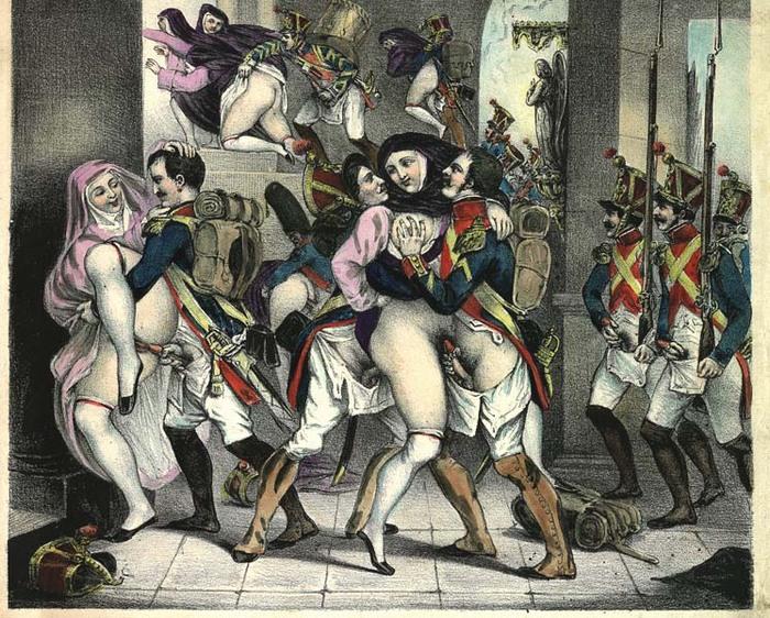 порно средневековой франции
