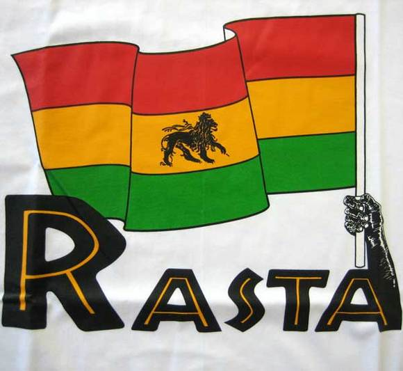 флаг растаманов