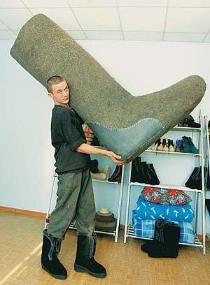 Самая большой размер ноги