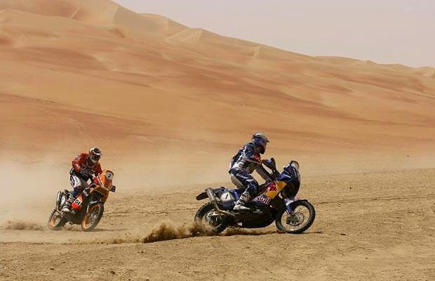 Абу-Даби - пустыня Вызова