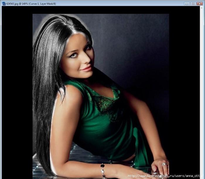 фото черно-белое окрашивание волос