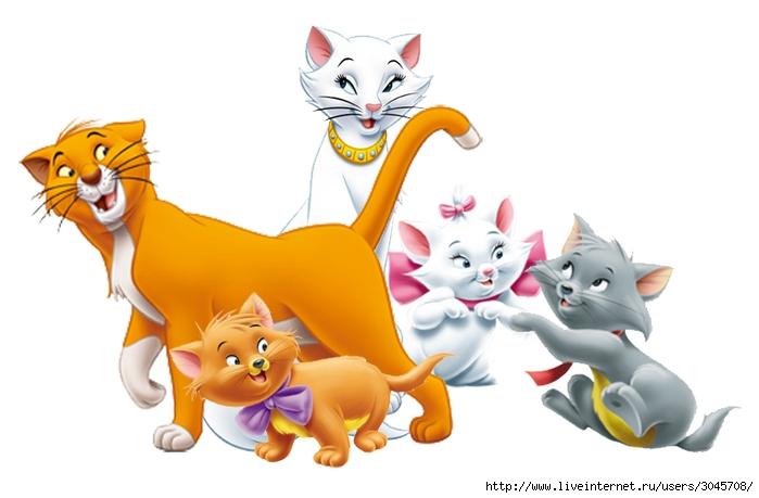 Смотреть мультик про коты аристократы