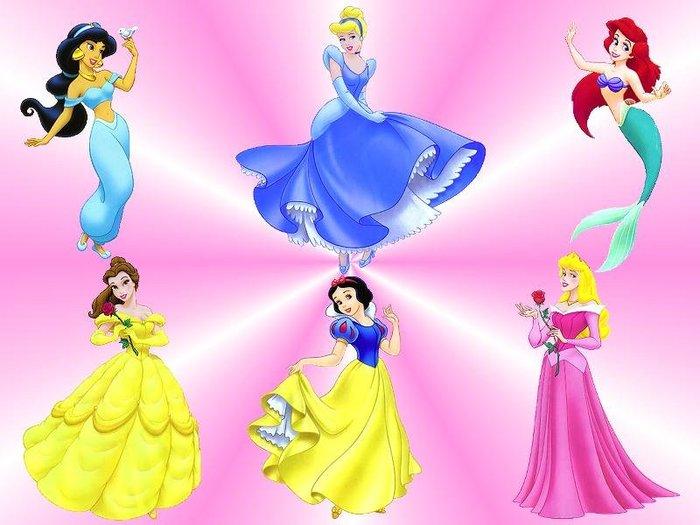 Мультики принцесс