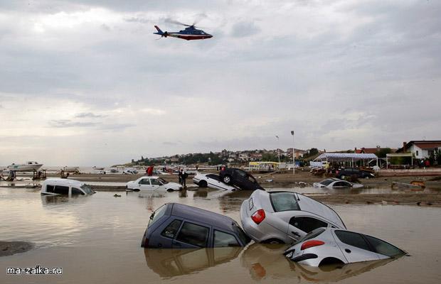 Наводнения в Турции