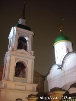 Церковь Троицы Живоначальной в Листах -колокольня