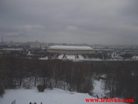 """Воробьевы Горы и Стадион """"Лужники"""""""