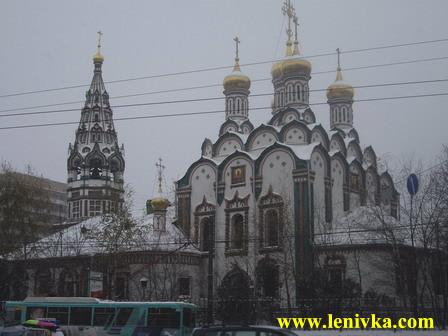 Прогулки по Москве: Храм Николы в Хамовниках