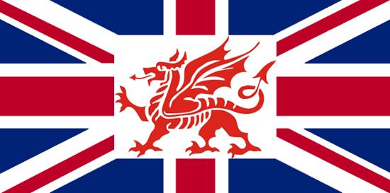 флаг уэльса фото