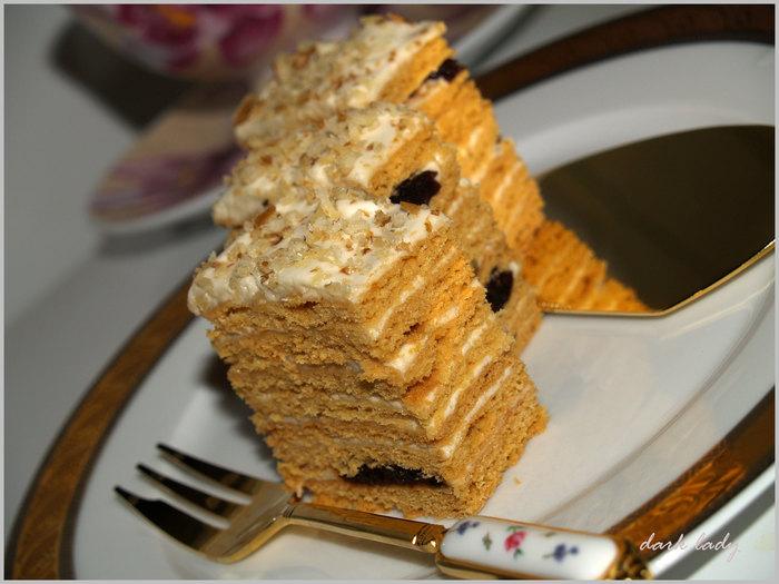 Стихи к торту медовик