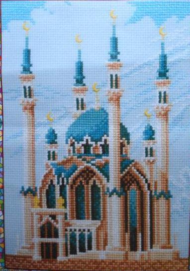 с изображением мечети Кул