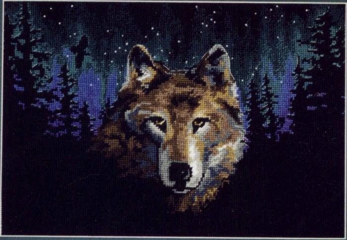 свои картинки с волками.